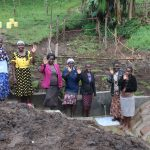 The Water Project: Emmachembe Community, Magina Spring -  Happy Community Members