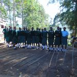 The Water Project: Friends Kuvasali Secondary School -  Students At The School Gate