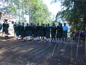 The Water Project:  Students At The School Gate
