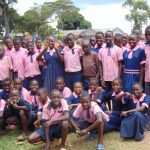 The Water Project: Kapkoi Primary School -  Students Posing