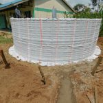 The Water Project: Elufafwa Community School -  Tank Wrapped In Plastic