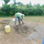 The Water Project: Shinyikha Primary School -  Mixing Cement