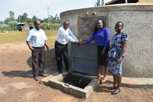 The Water Project:  Official Handing Over Of The Tank
