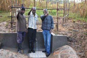 The Water Project:  Happy Faces On Site