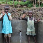 The Water Project: Emmachembe Community, Magina Spring -  Hi From The Spring