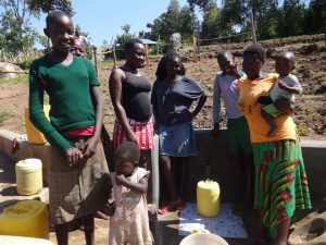The Water Project:  Happy Community Members