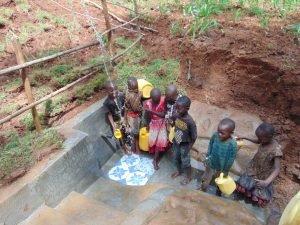 The Water Project:  Kids Having Fun At The Spring