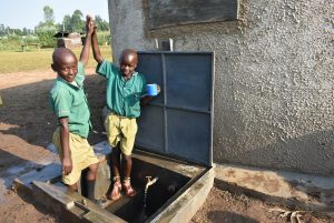 The Water Project:  High Five For Clean Water Access