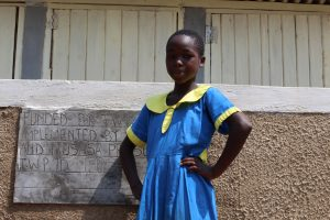 The Water Project:  Posing With The Latrines