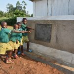 The Water Project: Shinyikha Primary School -  Boys At Their Vip Latrines