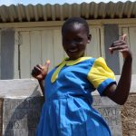 The Water Project: Musasa Primary School -  Thumbs Up For New Latrines