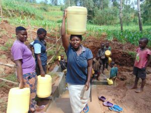 The Water Project:  Ready To Walk Home With Clean Water