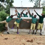 The Water Project: Elufafwa Community School -  Hurray Latrines