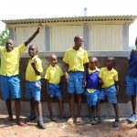 The Water Project: Musasa Primary School -  Boys With New Latrines