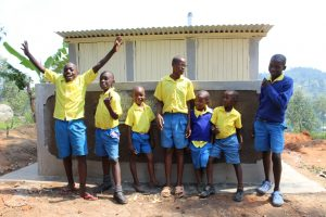The Water Project:  Boys With New Latrines
