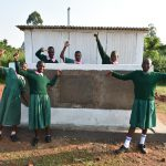The Water Project: Shinyikha Primary School -  Girls At Their Vip Latrines