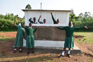 The Water Project:  Girls At Their Vip Latrines
