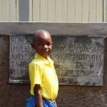 The Water Project: Musasa Primary School -  Standing Proud With New Latrines