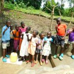 The Water Project: Bung'onye Community, Shilangu Spring -  Kids At The Spring