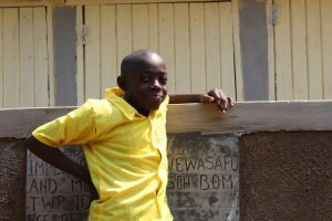 The Water Project:  Happy With New Latrines