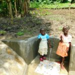The Water Project: Bung'onye Community, Shilangu Spring -  Full Of Giggles