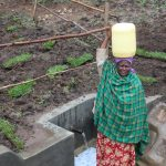 The Water Project: Emmachembe Community, Magina Spring -  Ready To Bring Clean Water Home