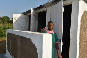 The Water Project:  Dawn Of A New Day For Sanitation In Shinyikha Primary School