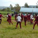 The Water Project: Friends School Ikoli Secondary -  Students On The Playground