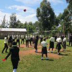 The Water Project: St. Gerald Mayuge Secondary School -  Students Playing Volleyball