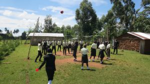 The Water Project:  Students Playing Volleyball