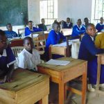 The Water Project: Mutiva Primary School -  Students In Class