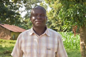 The Water Project:  Mzee Patrick Nyanje