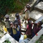 The Water Project: Mungakha Community, Asena Spring -  Thumbs Up For Clean Water