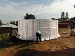 The Water Project:  Adding Tarps To The Form