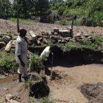 The Water Project: Bungaya Community, Charles Khainga Spring -  Foundation Laying