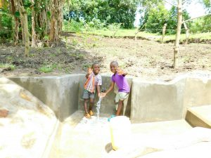 The Water Project:  Hi From Shilangu Spring