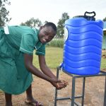 The Water Project: Elufafwa Community School -  Handwashing The Good Practice