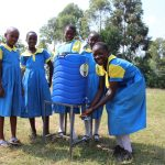 The Water Project: Musasa Primary School -  Girls Handwashing