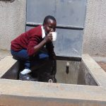 The Water Project: Ematiha Secondary School -  Rabecca Shisia Gets A Drink