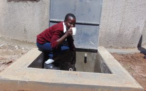 The Water Project:  Rabecca Shisia Gets A Drink