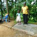 The Water Project: Bung'onye Community, Shilangu Spring -  New Sanitation Platform Owners