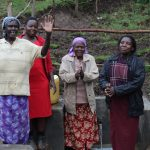 The Water Project: Emmachembe Community, Magina Spring -  Singing To Celebrate The Spring