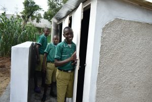 The Water Project:  Thumbs Up For New Latrines