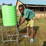 The Water Project: Shinyikha Primary School -  Handwashing The Good Practice