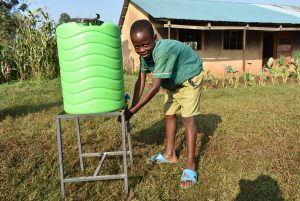 The Water Project:  Handwashing The Good Practice