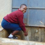 The Water Project: Ematiha Secondary School -  Smiles At The Rain Tank