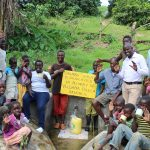 The Water Project: Bung'onye Community, Shilangu Spring -  Spring Dedication