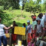 The Water Project: Bung'onye Community, Shilangu Spring -  Celebrating The Dedication Of The Spring