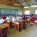The Water Project: Friends School Ikoli Secondary -  Students In Class
