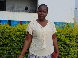 The Water Project:  Sanitation Teacher Mrs Rebecca Mbita